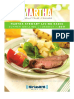 Martha Stewart Living Radio-Summer Grilling Cookbook 2011
