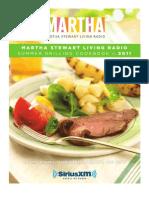 Martha Stewart Living Radio-Summer Grilling Cookbook 2011