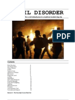 Civil Disorder wargame rules