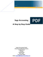 Sage Accounting a Step by Step Guide 2012