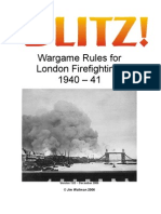 Blitz Rules Version 101