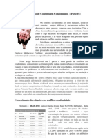 O  sindico e a gestao de conflitos em condomínios - Parte 01
