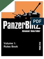 The Advanced Panzer Blitz Rules Book
