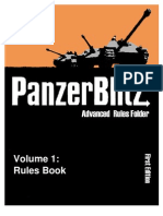 The Advanced Panzer Blitz Rules Book