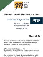 Medicaid Health Plan Best Practices - Thomas Johnson