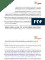 Anexos del Cuadro Comparativo acerca de propuestas en DDHH de los partidos políticos