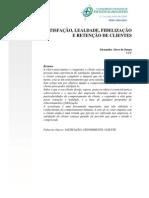 Satisfação do cliente em pdf