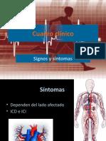Cuadro clínico IC