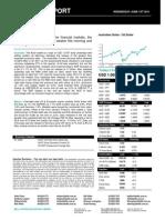 Australian Dollar Outlook 01 June  2011