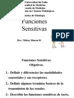 Medicina - Fisiologia. FuncionesSensitivas