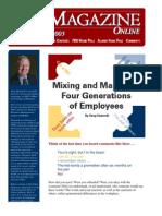 FDU Online - Managing 4 Generations of Employees