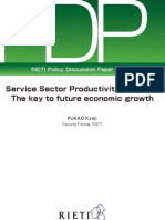 Service Sector Productivity in Japan- The Key to Future Economic Growth