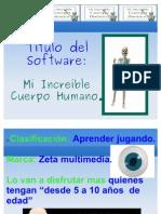 presentacion del software educativo
