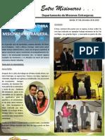 Boletin 194 Traslados de Misioneros en Inglaterra Holanda, Italia, Mozambique Tanzania