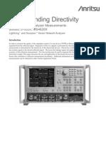 Anritsu Understanding Directivity