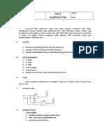 Adit - Half Subtractor