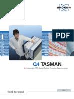 Máy phân tích thành phần kim loại Q4 TASMAN Brochure