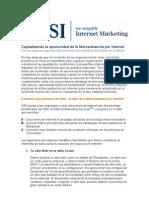 Capitalizando la oportunidad de la Mercadotecnia por Internet