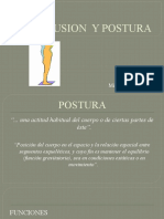 Oclusion vs Postura