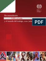 Recomendación sobre el VIH y el sida y el mundo del trabajo, 2010 (núm.200)