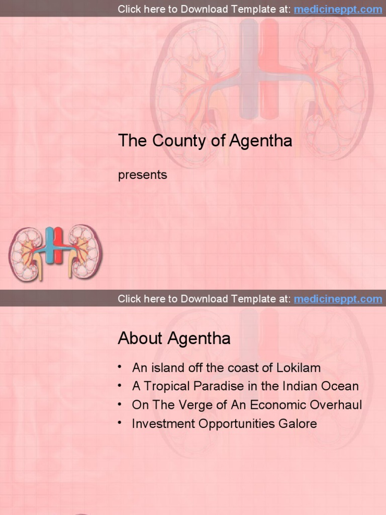 Kidney Powerpoint Presentation Template