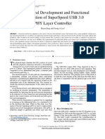 Architectural Development and Functional Verification of SuperSpeed USB 3.0  PHY Layer Controller