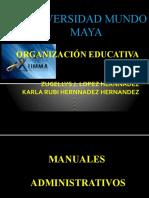 ORGANIZACIÓN EDUCATIVA.. expo