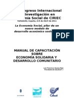 Manual de Economia Social y Solidaria