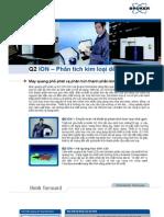 Máy phân tích thành phần kim loại Q2 ION - Metal analysis spectrometer