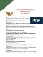 Stock Market Dictnoary by Vsl Rexonavn Com