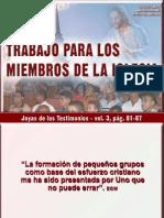 Trabajo Para Los Miembros de La Iglesia