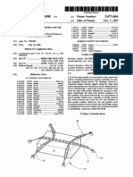 Cargo securement system and tie down strap (US patent 5673464)
