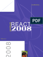 "Yearbook ""REACT 2008"""
