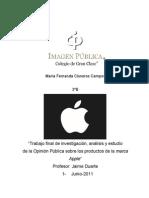 Caso de Opinión Pública marca Apple