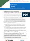 Future of Voice