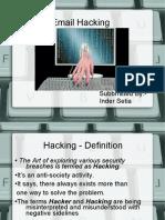 Email Hacking(06 Cse 036)