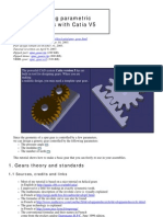 Helical gear design in catia how to.