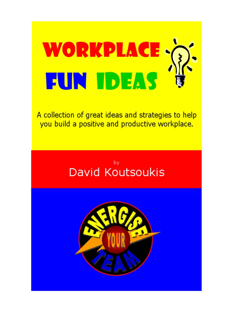 workplace fun ideas education | humour | lottery