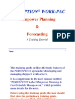 Perception WORK-PAC Manpower Planning & Forecasting
