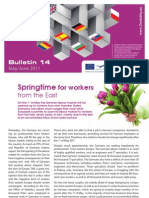 E Bridge Bulletin 14 - Springtime for workers