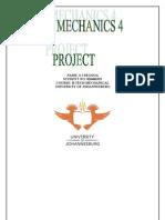 Fluid Mechaics 4 Project[1]