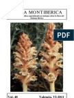 Flora Montiberica 48 (VI-2011)
