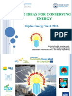 Eco Ideas for Energy Savings
