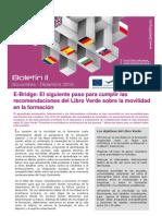 E-Bridge Boletin 11-Libro Verde sobre la movilidad en la formación
