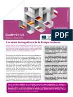E-Bridge boletín 1- Los retos demográficos de la Europa moderna