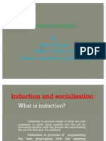 Induction and Socialization