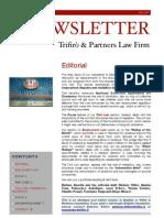 Newsletter T&P N°47 Eng