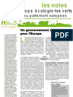 Un gouvernement économique pour l'Europe