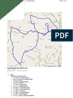 Google Map 100k Route SAS