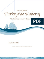 TÜRKİYE'DE KABOTAJ